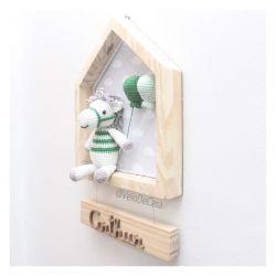 Cavalinho na Casinha - Porta Maternidade