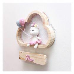 Unicórnio - Nuvem P - Porta Maternidade