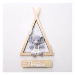 Cabaninha Elefante - Porta Maternidade