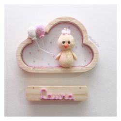 Pintinha - Nuvem P - Porta Maternidade