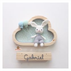 Coelhinho - Nuvem P - Porta Maternidade