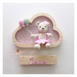 Ursinha - Nuvem P - Porta Maternidade