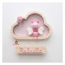 Borboleta - Nuvem P - Porta Maternidade