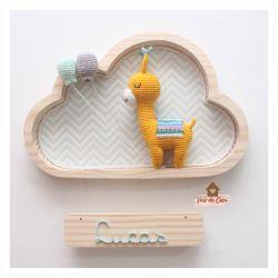 Lhama - Nuvem Grande - Porta Maternidade