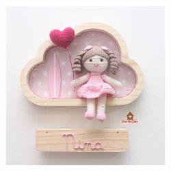 Boneca Surfista - Nuvem P - Porta Maternidade