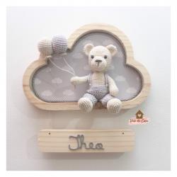 Ursinho - Nuvem P - Porta Maternidade