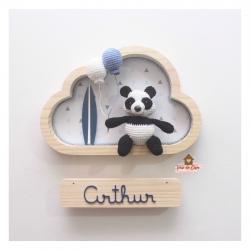 Panda Surfista - Nuvem P - Porta Maternidade