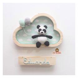 Urso Panda - Nuvem P - Porta Maternidade