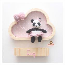 Panda - Sainha - Nuvem P - Porta Maternidade