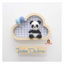 Panda - Nuvem P - Porta Maternidade
