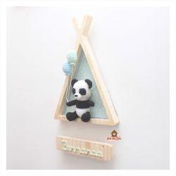 Urso Panda - Cabana - Porta Maternidade
