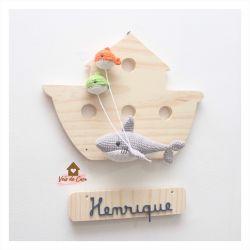 Tubarão - Barco - Porta de Maternidade