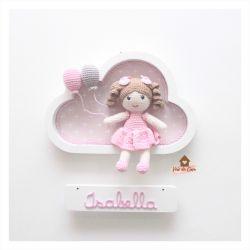 Boneca - Nuvem Branca - Porta Maternidade