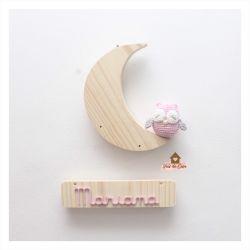 Coruja - Lua - Porta de Maternidade