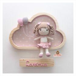 Boneca - Nuvem G - Porta Maternidade