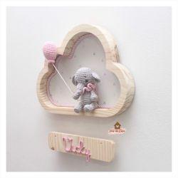 Elefantinha - Nuvem P - Porta Maternidade
