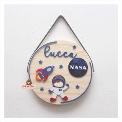 Astronauta - Círculo - Porta de Maternidade