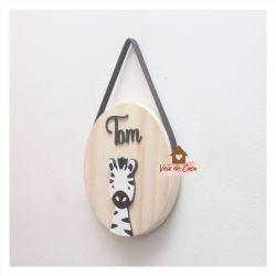 Zebra - Círculo P - Porta de Maternidade