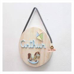Brinquedos - Círculo - Porta de Maternidade