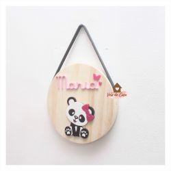 Panda - Círculo P - Porta de Maternidade