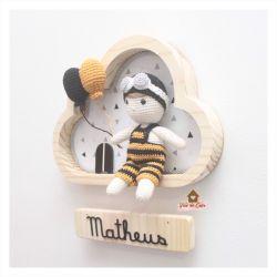 Menino - Natação  - Nuvem P - Porta Maternidade