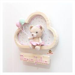 Ursinha - Nuvem M - Porta Maternidade