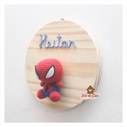 Homem Aranha - Círculo - Porta de Maternidade