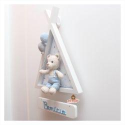 Urso - Cabana Branca - Porta Maternidade