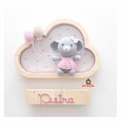 Elefantinha - Nuvem P - Porta de Maternidade