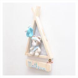 Ursinho Aviador - Cabana - Porta de Maternidade