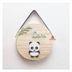 Panda - Círculo M - Porta de Maternidade