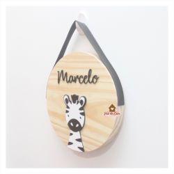 Zebra - Círculo M - Porta de Maternidade
