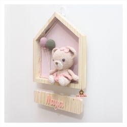 Ursa - Casinha - Porta Maternidade