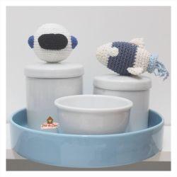 Kit Higiene - 4 peças - Astronauta