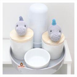 Kit Higiene - 5 peças - Dinossauro