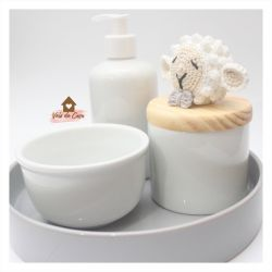 Kit Higiene - 4 peças - Ovelha