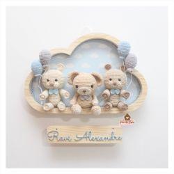 Três Ursos -  Nuvem G - Porta Maternidade