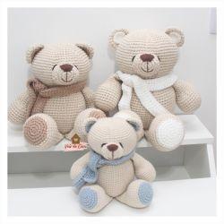 Trio Ursos - Decoração