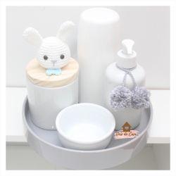 Kit Higiene - 5 peças - Coelhinho