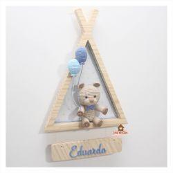 Urso  - Cabana - Porta Maternidade
