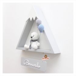 Urso Polar - Montanha - Porta Maternidade