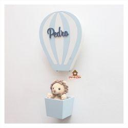 Leão no Balão - Porta de Maternidade