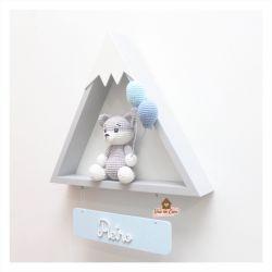 Raposa - Montanha - Porta Maternidade