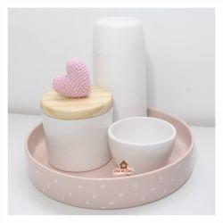 Kit Higiene - 4 peças - Coração