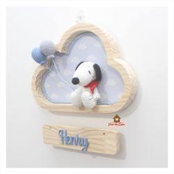 Snoopy - Nuvem P - Porta de Maternidade