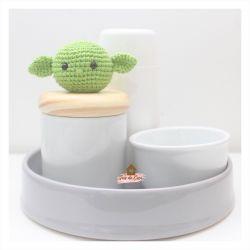 Kit Higiene - 4 peças - Baby Yoda