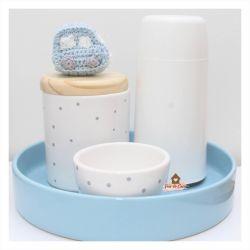 Kit Higiene - 4 peças - Carrinho Poá