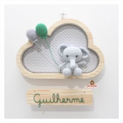 Elefantinho - Nuvem P - Porta Maternidade