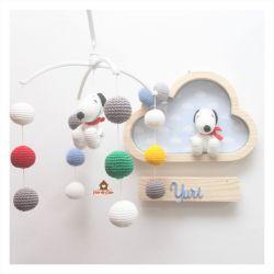 Kit - Snoopy - Enfeite + Móbile