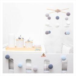Kit - Aviões - Móbile + Kit Higiene + Varal